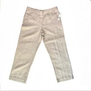 New With Tag Kim Rogers 100% Linen Pants for Men